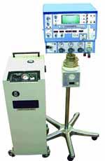 Высокочастотный неонатальный / педиатрический ИВЛ SLE 2000 HFO